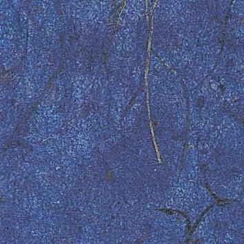 Хартия бананова с влакна, 35 g/m2, 50 x 70 cm, 1л, синя
