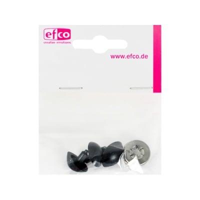 Безопасни копчета – нослета, 22 mm, 2 броя, черни