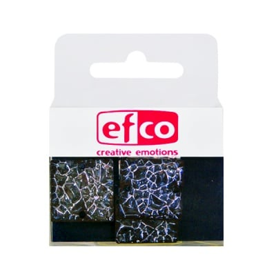 Бижу Acryl Ice crystal, квадрат, 20 mm, 5 броя, сиви