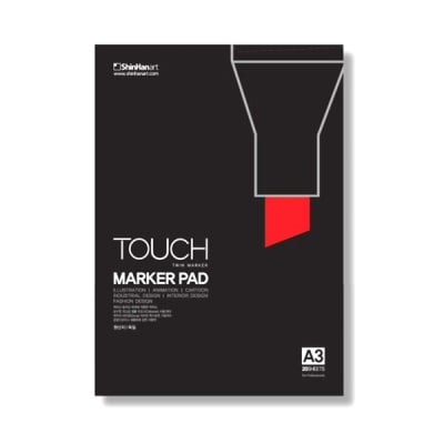 Блок за рисуване с TOUCH MARKER, А3+, 20 л.