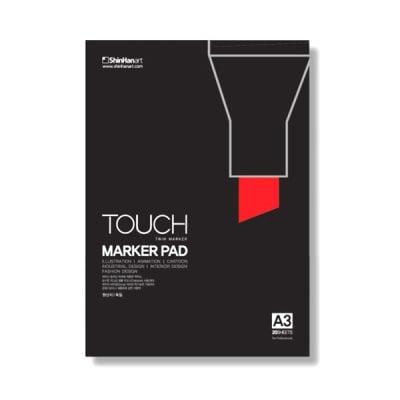 Блок за рисуване с TOUCH MARKER, А3, 20 л.