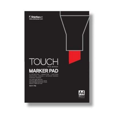 Блок за рисуване с TOUCH MARKER, А4, 50 л.