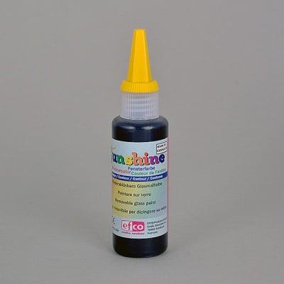 Боя за стъкло, Sunshine Kontur, 50 ml, черна