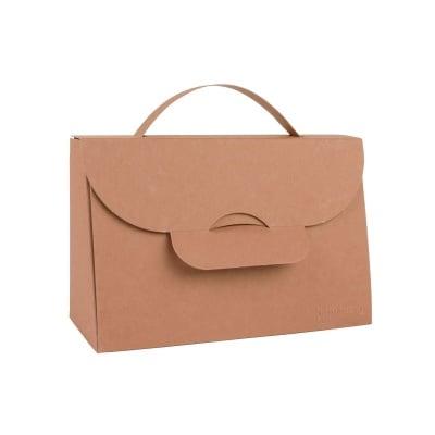 Чанта с една дръжка,163 х 73 х 108 mm,350g/m2, Tobacco