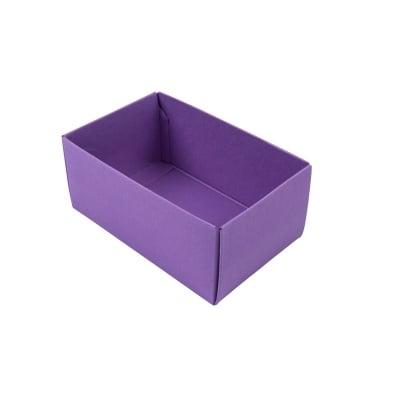 Основа за кутия, 266 х 172 х 78 mm, 350g/ m2, Lavender