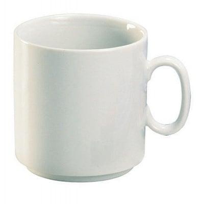 Чаша голяма за рисуване, Porzellan, бяла