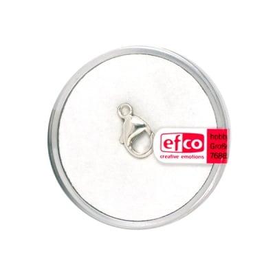 Част за бижу, закопчалка, 13 mm, 1 бр., Silver 925