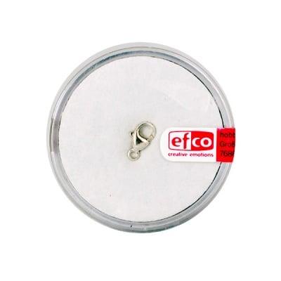Част за бижу, закопчалка, 9 mm, 1 бр., Silver 925