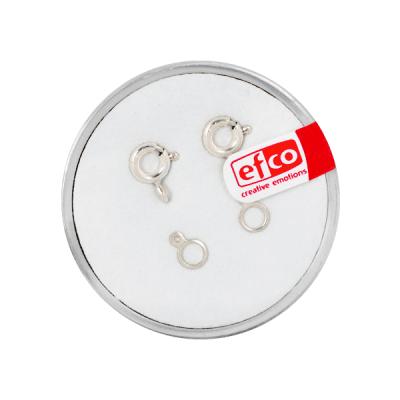 Част за бижу, закопчалка, Silver 925 / 2 - части, 6 mm, 2 бр.