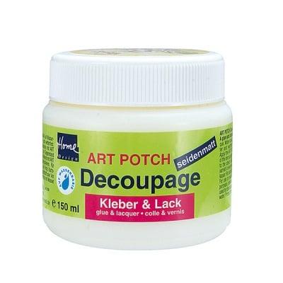 Декупажно лепило и лак Art Potch Decoupage, 150 ml, мат