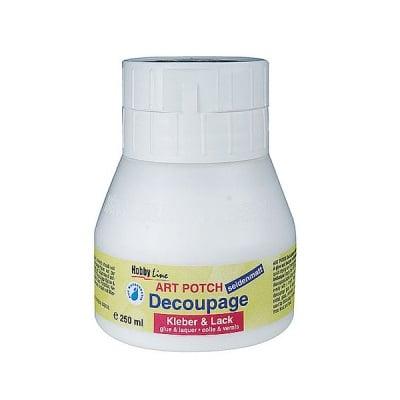 Декупажно лепило и лак Art Potch Decoupage, 250 ml, мат