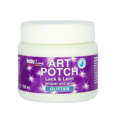 Декупажно лепило Art Potch Lack&Leim Glitter-Gold, 150 ml