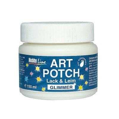 Декупажно лепило ART POTCH Lack & Leim Glimmer, 150 ml