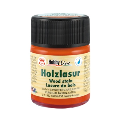 Лазурна боя Hobby Line, 50 ml, ръжда