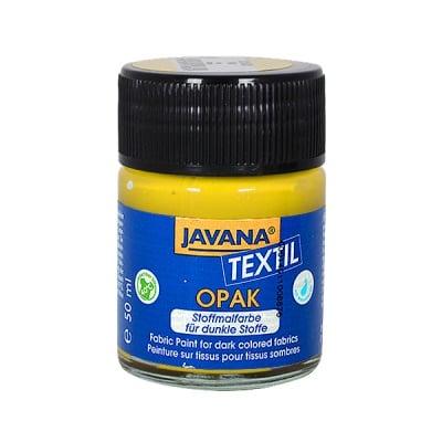 Текстилна боя OPAK JAVANA, 50 ml, златисто жълт