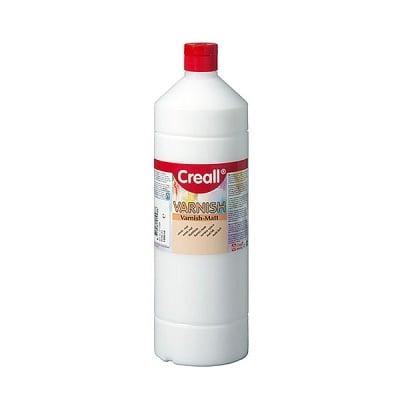 Лак запечатващ на водна основа CREALL, 1000 ml ГЛАНЦОВ/МАТОВ