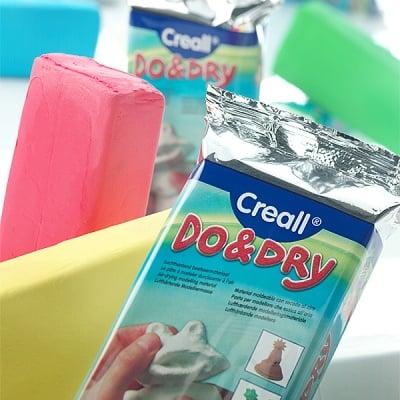 Глина за моделиране CREALL Do+Dry
