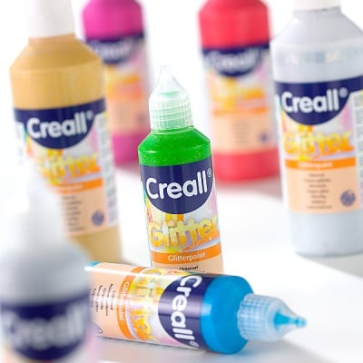 Блестящи бои CREALL Glitter, 80 ml