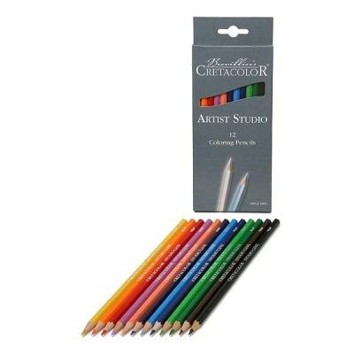 Комплект цветни моливи Artist Studio Line, 12 цвята
