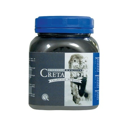 Пудра CretaColor, Charcoal Powder, бурканче, 175 g