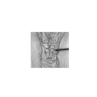 Пастелна сърцевина CretaColor, Nero Drawing, soft