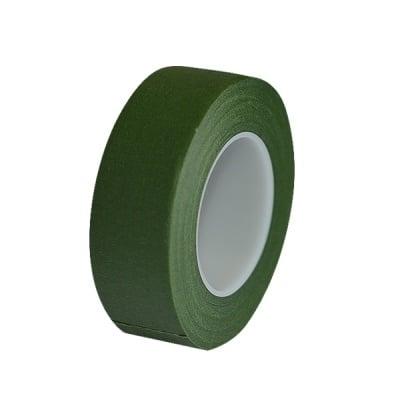 Цветарско декоративно тиксо от креп, 25,4mm, 28 m  зелено