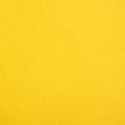 Цветен картон, 130 g/m2, 50 x 70 cm, 1л, слънчево жълт