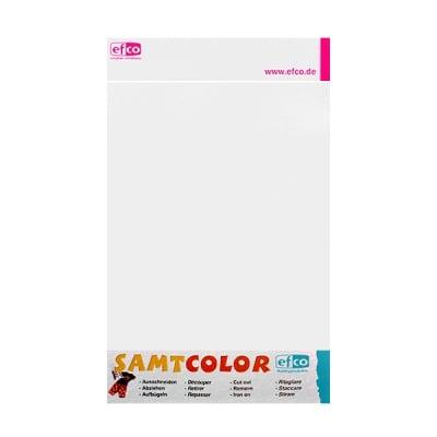 Цветен лист за декоративна щампа, SAMTCOLOR, 250 x 200 mm, 1 бр., бял