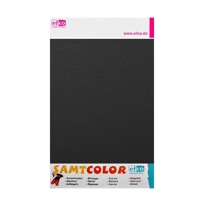 Цветен лист за декоративна щампа, SAMTCOLOR, 250 x 200 mm, 1 бр., черен