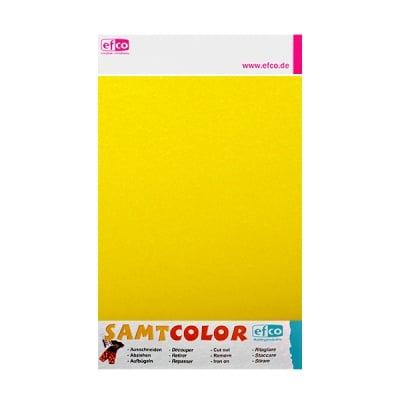 Цветен лист за декоративна щампа, SAMTCOLOR, 250 x 200 mm, 1 бр., жълт