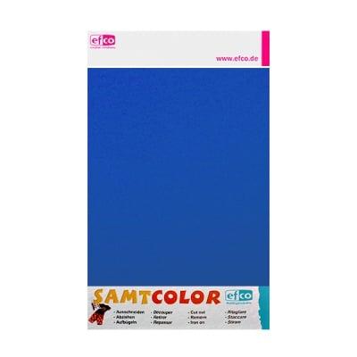 Цветен лист за декоративна щампа, SAMTCOLOR, 250 x 200 mm, 1 бр., син