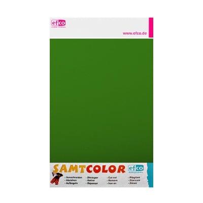 Цветен лист за декоративна щампа, SAMTCOLOR, 250 x 200 mm, 1 бр., зелен