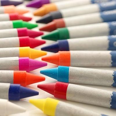 Цветен восъчен пастел CREALL Waxy