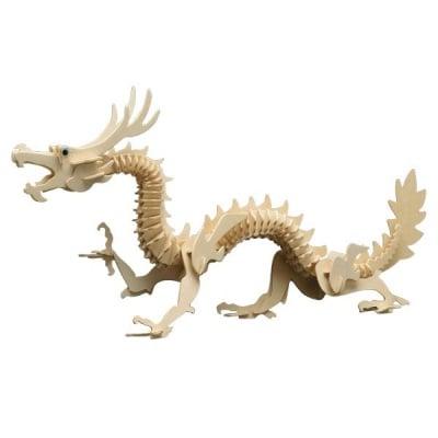 Дървен комплект за сглобяване, Китайски дракон