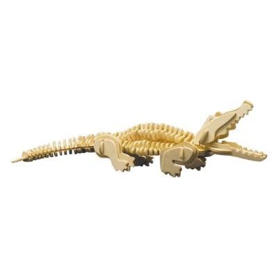 Дървен комплект за сглобяване, Крокодил