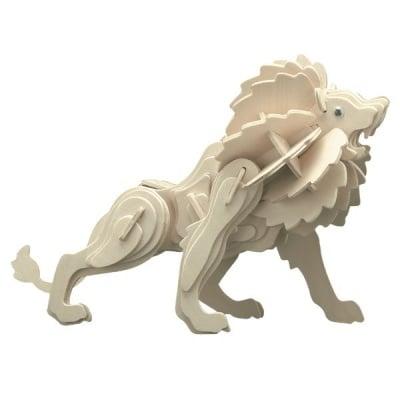 Дървен комплект за сглобяване, Лъв