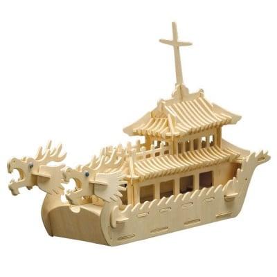 Дървен комплект за сглобяване, Лодка Дракон