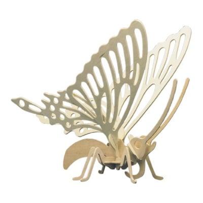 Дървен комплект за сглобяване, Пеперуда