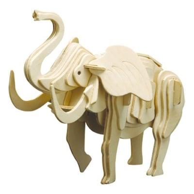 Дървен комплект за сглобяване, Слон