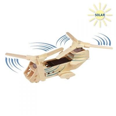 Дървен комплект за сглобяване, Соларен хеликоптер