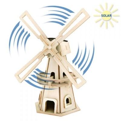Дървен комплект за сглобяване, Соларна вятърна мелница