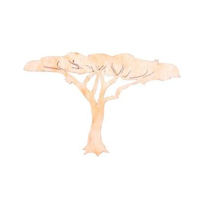 Деко фигурка африканско старо дърво, дърво,  80 mm