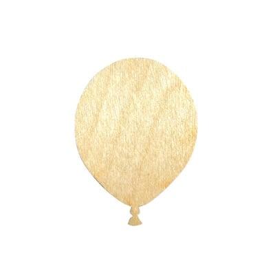 Деко фигурка балон, дърво, 30 mm
