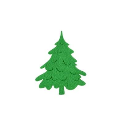 Деко фигурка коледно дръвче, Filz, 80 mm, светло зелена