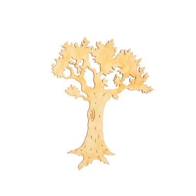 Деко фигурка много старо дърво, дърво, 60  mm