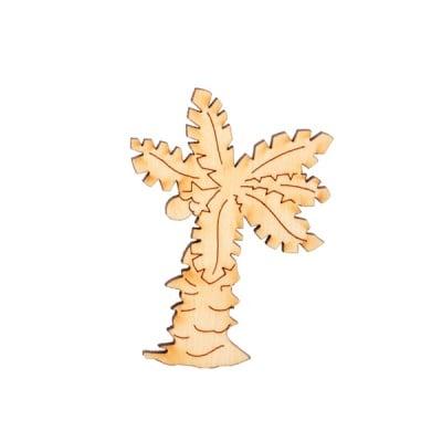 Деко фигурка палма, дърво, 50 mm