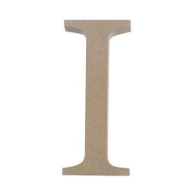 "Декоративен символ RicoDesign, ""I"", MDF, 4,1x1,8 cm"