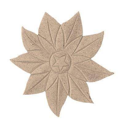 Декоративна фигура RicoDesign, ДАЛИЯ ЦВЯТ, MDF, 11/12/0.5 cm