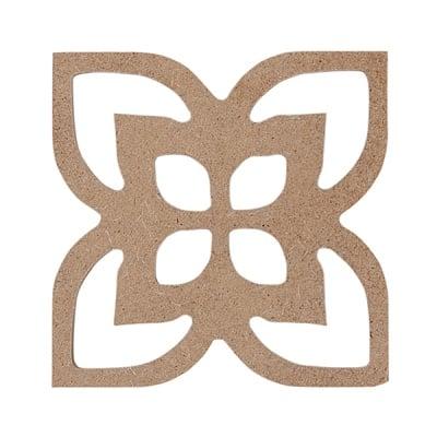 Декоративна фигура RicoDesign, ОРНАМЕНТ 2, MDF, 5.5/5.5 CM