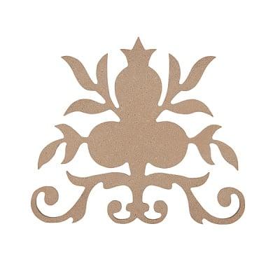 Декоративна фигура RicoDesign, ОРНАМЕНТ, MDF, 12.5/11 CM